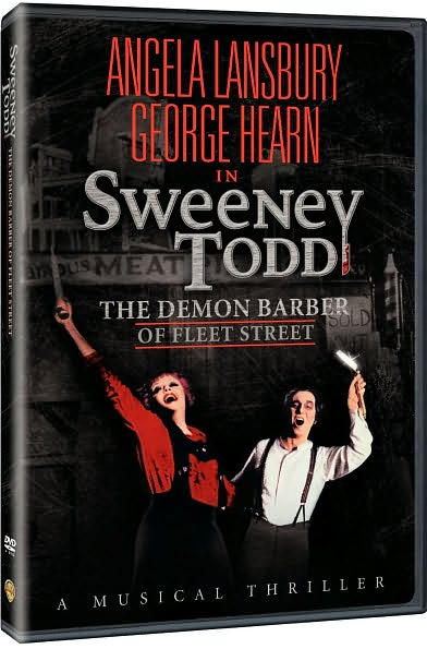 SWEENEY TODD:DEMON BARBER BY LANSBURY,ANGELA (DVD)