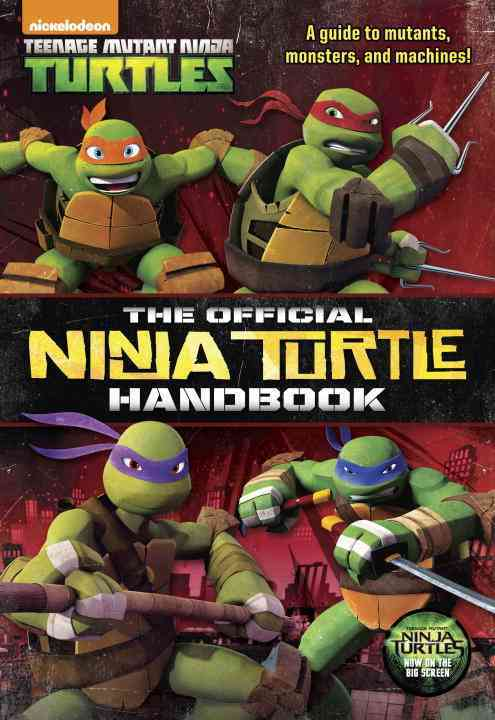 The Official Ninja Turtle Handbook By Golden Books Publishing Company (COR)